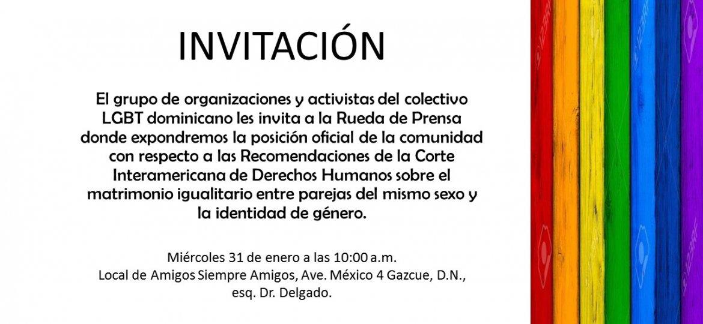 Invitacion a Rueda de Prensa
