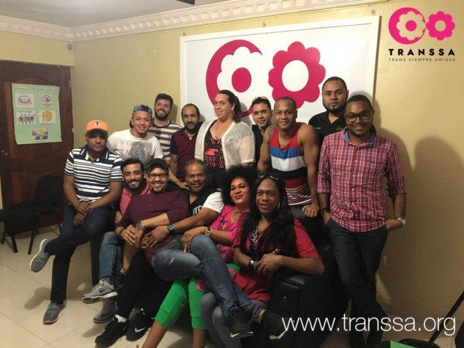 REUNIÓN COLECTIVO LGBT DOMINICANO, CON MIRAS ELABORACIÓN PLAN OPERATIVO 2018/2020