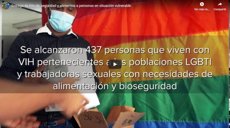 PNUD entrega kits de alimentos y bioseguridad a personas viviendo con_ - www.do.undp.org
