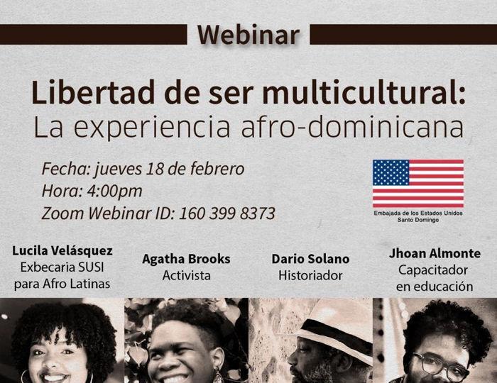 Panel de discusión Libertad de ser Multicultural